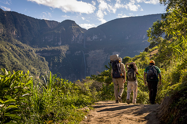 Chachapoyas camino a cataratas